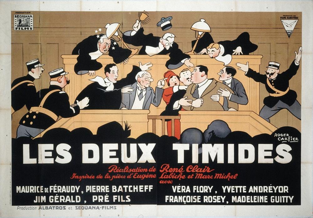 Deux Timides.Poster 3.CF